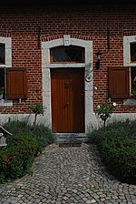 Zuurbemde - woning van 1776 (voordeur)