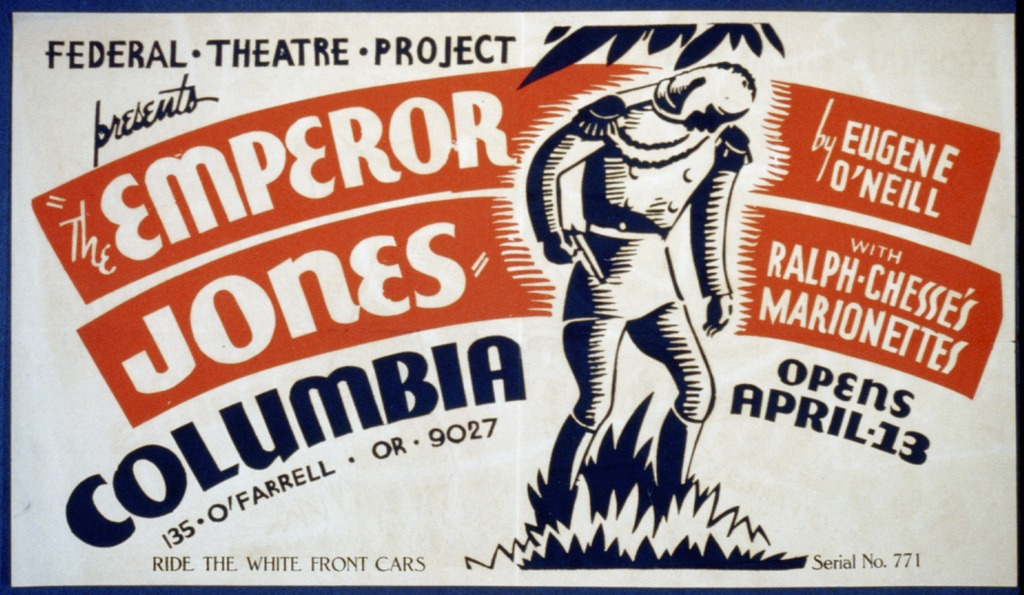 """the emperor jones by eugene o'neill That would be the director ciaran o'reilly, who has revived his gorgeous,  astonishing production of eugene o'neill's """"the emperor jones"""" at."""