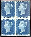 """Two Penny Blue"" postage stamps MET SF2002 236 2 img1.jpg"