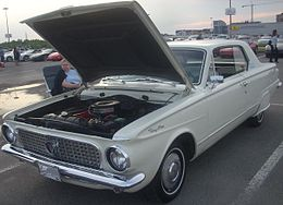 Una Plymouth Valiant del 1963