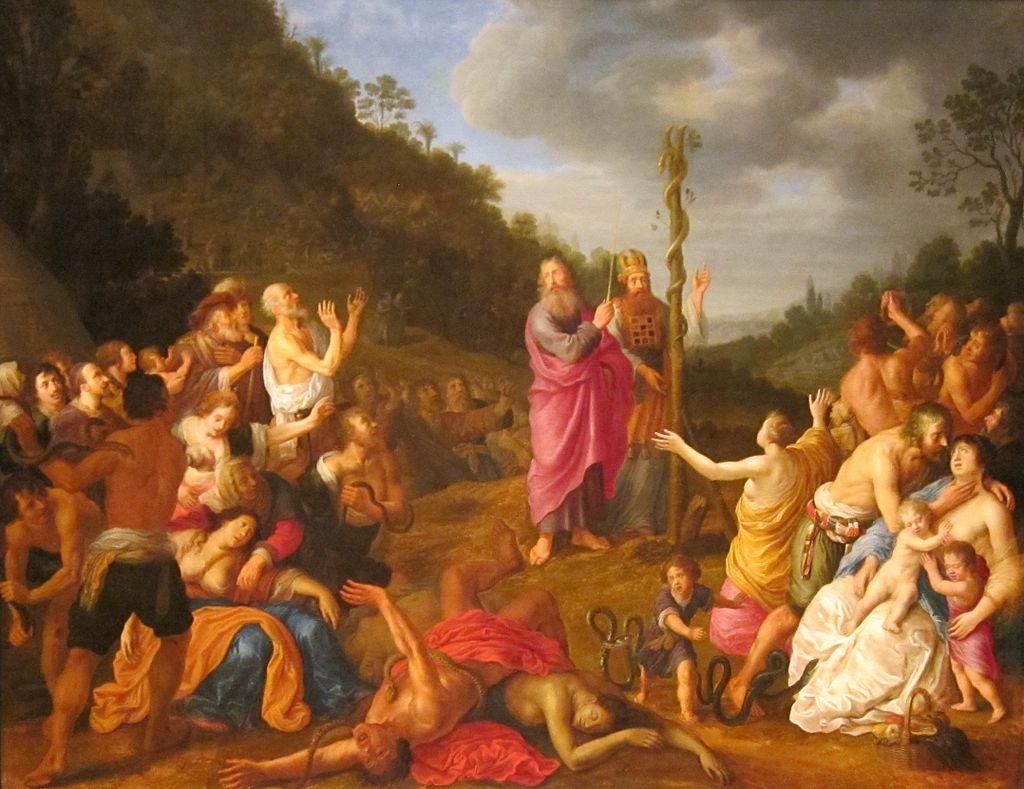 십계명을 든 모세 (렘브란트, 1659년)
