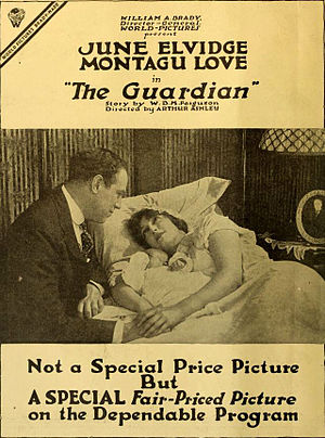 Montagu Love - The Guardian (1917)