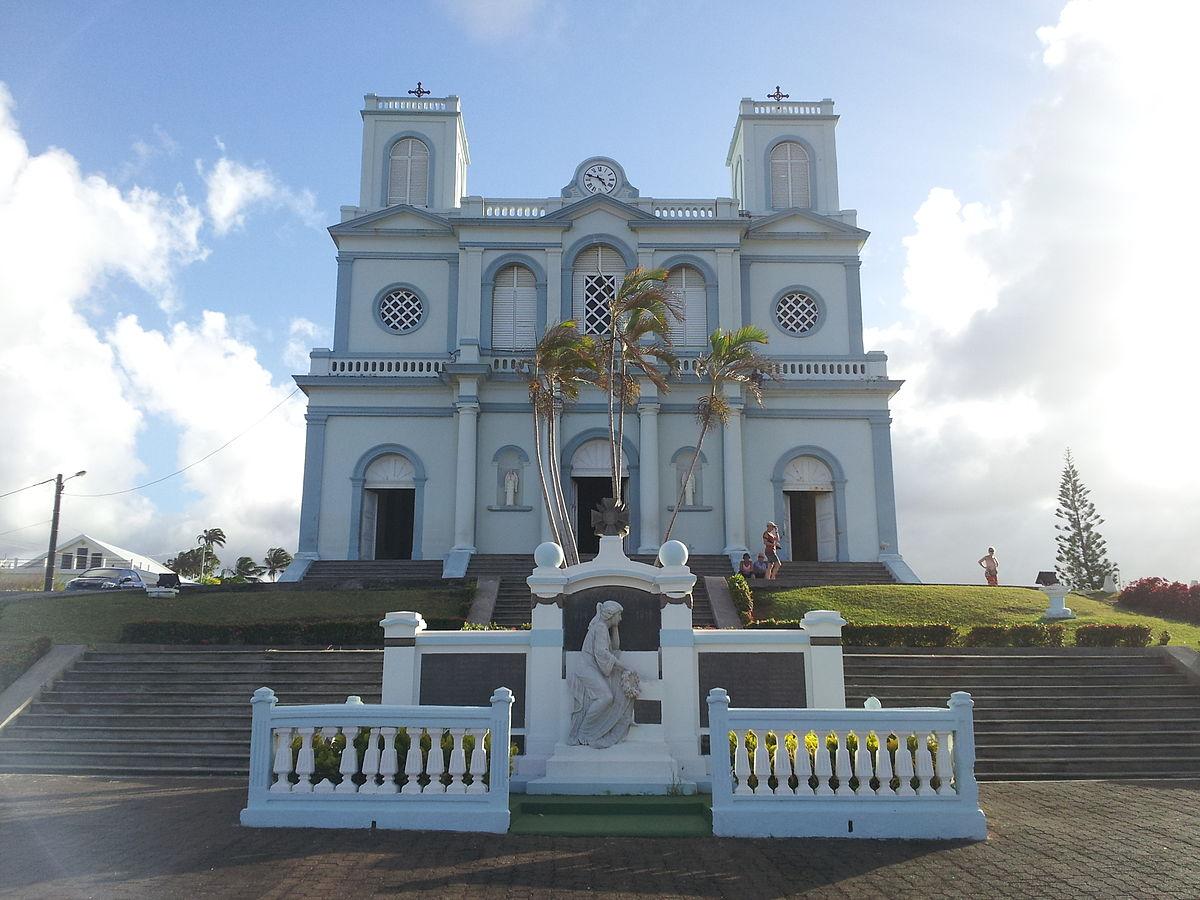 église Notre Dame De Lassomption De Sainte Marie Martinique