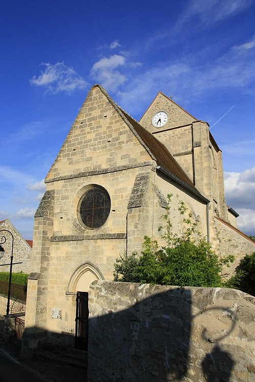 Photo - Eglise de Villeneuve-Saint-Martin