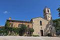 Église du Rouret et maison mitoyenne.JPG