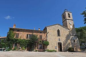Le Rouret - The church of Saint-Pons in Le Rouret