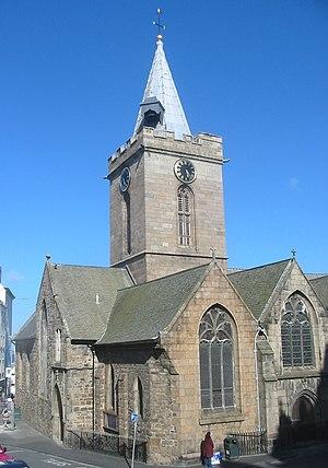 Town Church, Guernsey - Town Church, Saint Peter Port, Guernsey
