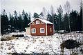 Ömossa, Blombergsstugan i december 1991. Bild 1..jpg