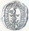 Øster Han Herreds segl 1584.jpg