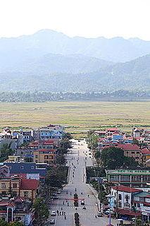 Điện Biên Phủ City in Điện Biên, Vietnam