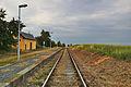 Železniční stanice, Kaple, Čelechovice na Hané, okres Prostějov.jpg