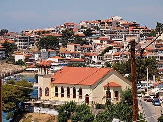 Neos Marmaras - Taxiarches church