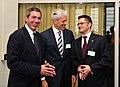 ΥΠΕΞ Σ. Λαμπρινίδης με Πρόεδρο Σερβίας Β. Tadic και ΥΠΕΞ Σερβίας V. Jeremic.jpg