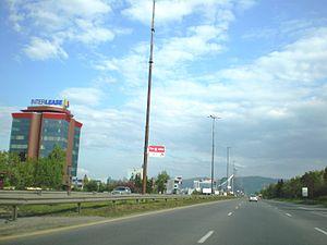 Tsarigradsko shose - Image: Бул. Цариградско шосе, София