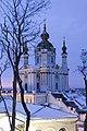Зимний взгляд на Андреевскую церковь.jpg