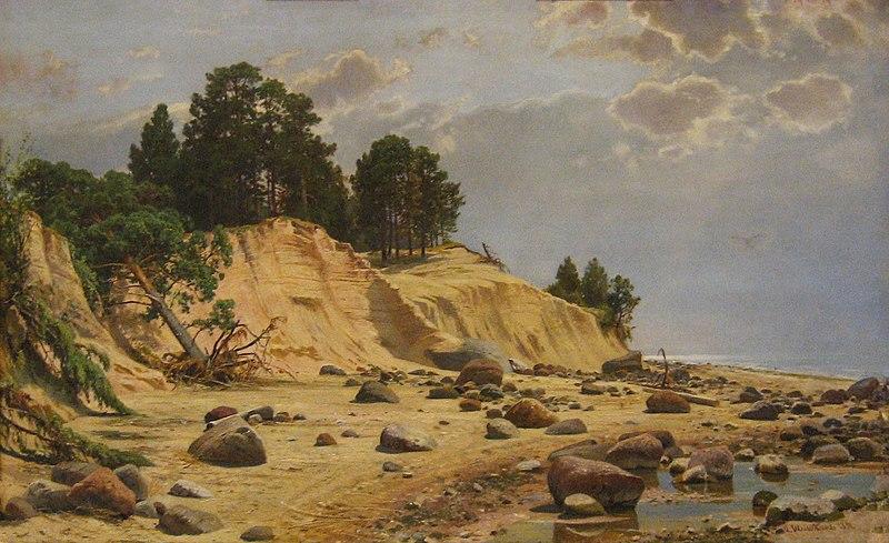 File:Иван Шишкин После шторма в Мери-Хови 1891.jpg