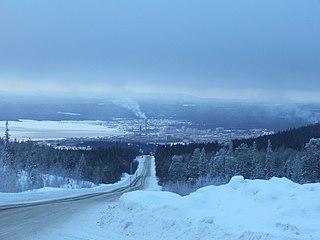 Kandalaksha Town in Murmansk Oblast, Russia