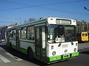 LiAZ (Russia) - LiAZ-5256 bus (first generation, pre 2005) in Stary Oskol (Belgorod Oblast)