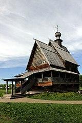 Никольская церковь из села Глотово.