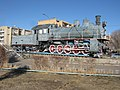 Памятник-паровоз Эу 709-81 (Байконур).jpg