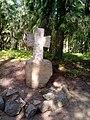 Памятный крест по дороге к дому А.С. Пушкина 01.jpg
