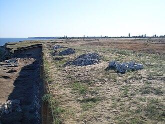 Battle of Kalach - Terrain by the Don River south of Kalach.
