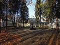"""Усадьба П.С.Щербатова """"Братцево"""". Вид из аллеи парка. Южное Тушино.jpg"""