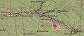 Фрагмент геогностичної карти братів Носових, 1869 рік, із позначенням кам'яновугільних відкладень по річці Солона.jpg
