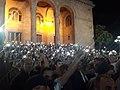 Բողոքի ցույց Բաղրամյան փողոցում, ԳԱԱ.jpg
