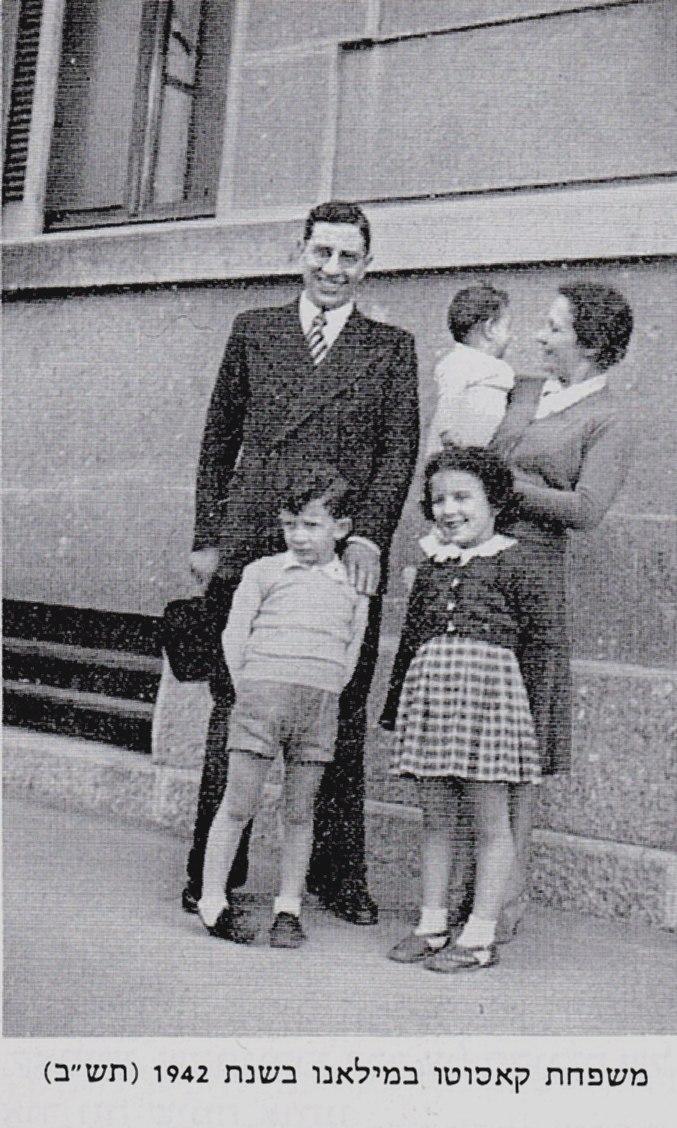 משפחת קאסוטו במילאנו
