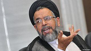 Разведка Ирана. Ходжат-оль-ислам Махмуд Алави , министр разведки и национальной безопасности Ирана с 2013 года.