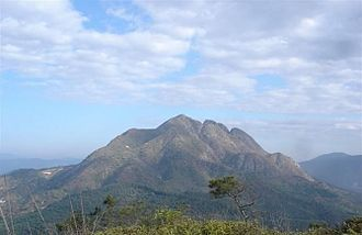 Chenghai District - Mountain Lianhua, highest mountain of Chenghai District