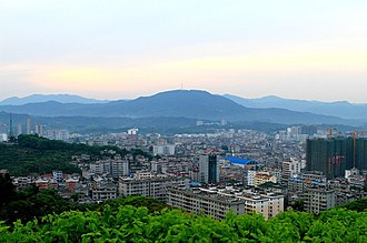 Luotian County - Fengshan town, county seat of Luotian
