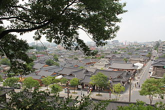 North Jeolla Province - Hanok Village in Jeonju