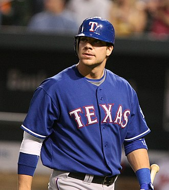 Chris Davis (baseball) - Davis during his tenure with the Texas Rangers in 2009