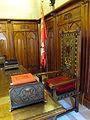 030 Ajuntament de Terrassa, sala de l'alcaldia, taula de l'alcalde.JPG