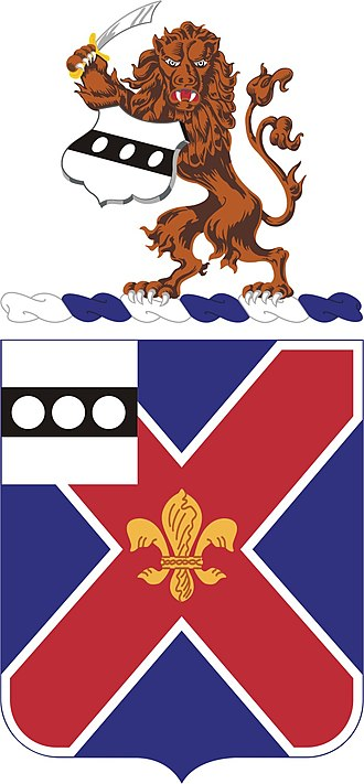 111th Infantry Regiment (United States) - Coat of arms