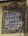 12-09-2017 Street name sign, Praça Dom Francisco Gomes, Faro.JPG