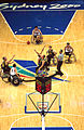 141100 - Wheelchair basketball tip off from above - 3b - 2000 Sydney match photo.jpg