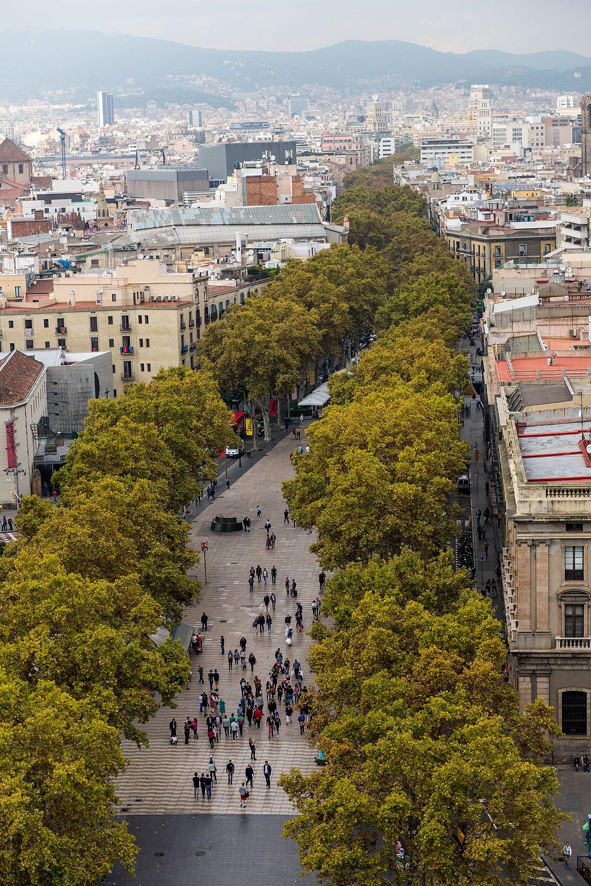 La rambla barcelona wikipedia - La botigueta barcelona ...