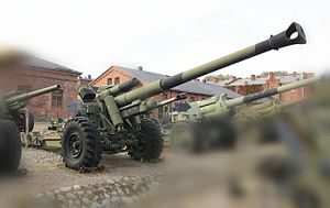 15 cm sFH 18 - 152 H 88-40. Finnish modernized version of 15 cm sFH 18.