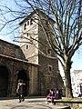 161 Església de San Nicolás de Bari, o de San Francisco (Avilés), façana nord, campanar.jpg