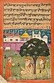 1733 CE Janamsakhi British Library MS Panj B 40, Guru Nanak hagiography 5, Bhai Sangu Mal.jpg