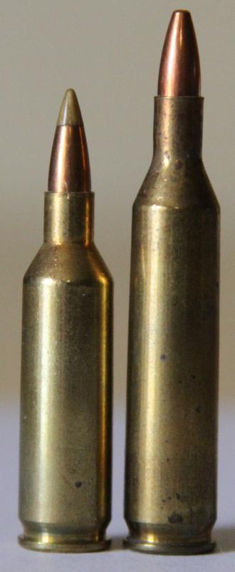 .17 Remington Fireball - Image: 17fireballand 17rem