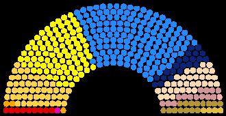 German federal election, 1874 - 1874 German Parlament