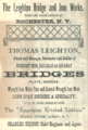 1874 ad Rochester NY Poors Manual of Railroads.png