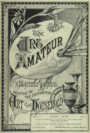 Art Amateur - The Art Amateur, 1879