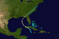 1886 Atlantic hurricane 3 track.png