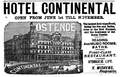1896 Hotel Continental in Ostende advertisement.png