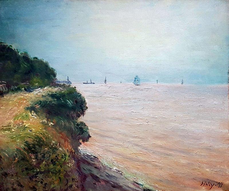 1897 Sisley Langland Bay anagoria.jpg